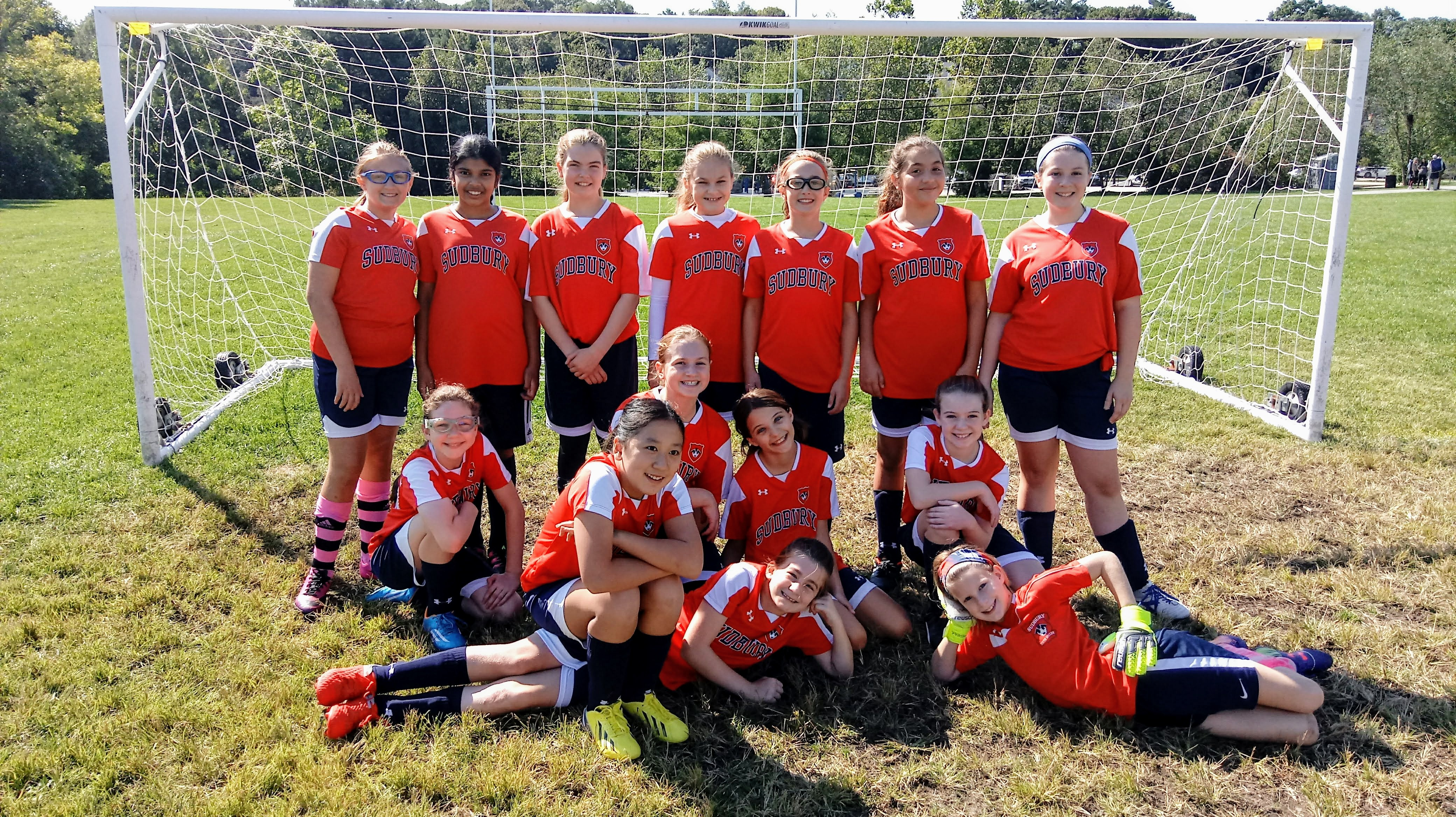 Fall 2018 Strikers-6th Grade Girls